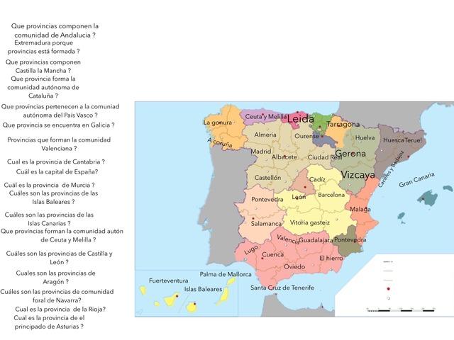 Trabajo De Provincias  by Celia Delgado Bermejo