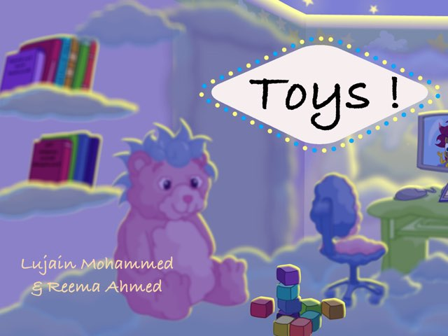 Toys in English  by Lojain Mohammed