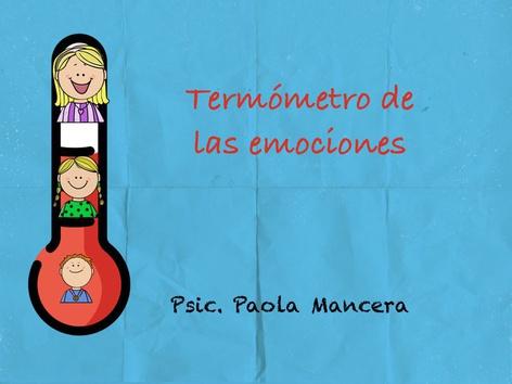 Termómetro De Las Emociones by Pao Mancera