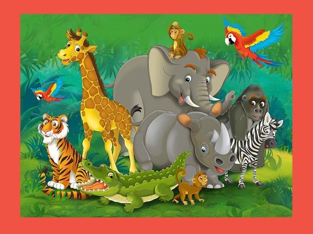 3 Пазла — Животные Африки by Alex