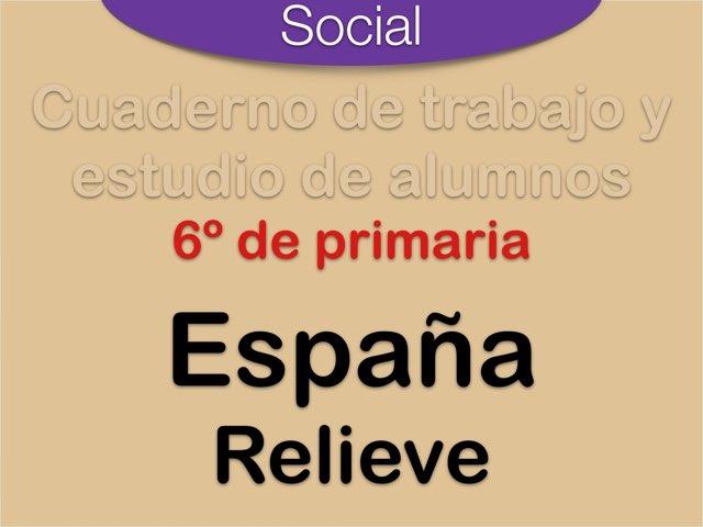 Relieve de España by Elysia Edu