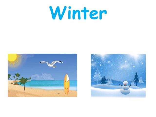 K1 Winter Vocabularies by Beverly Ramirez-Roque