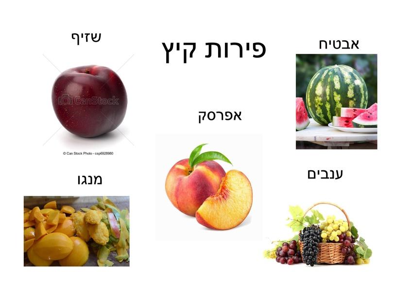 פירות קיץ by נטע פארי סקלר