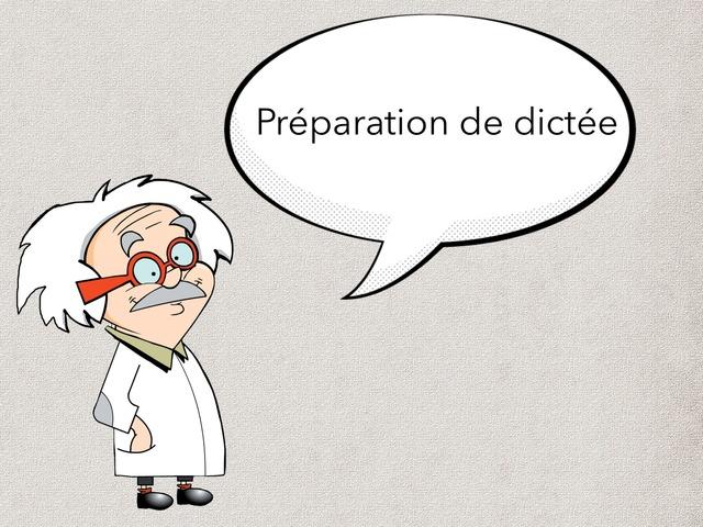 Préparation De Dictée  by Lydia Bu