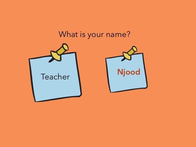 Question  by Njood Hamdan