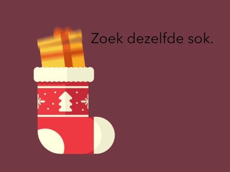 Zoek dezelfde kerstsok by Janine