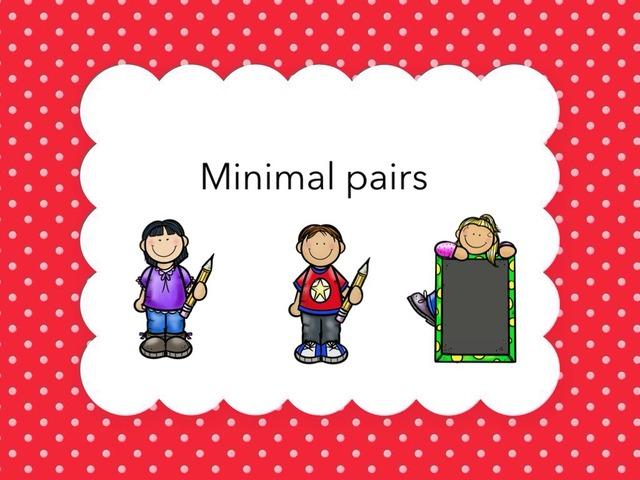 Minimal Pairs by Tonnie de Jonge