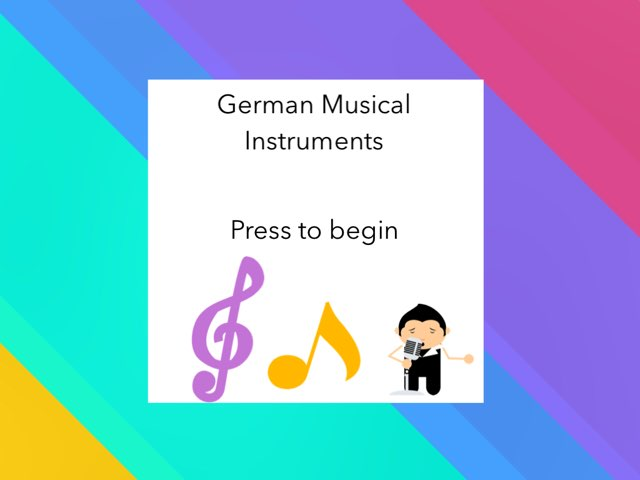 German Musical Instruments by Josh Dobos