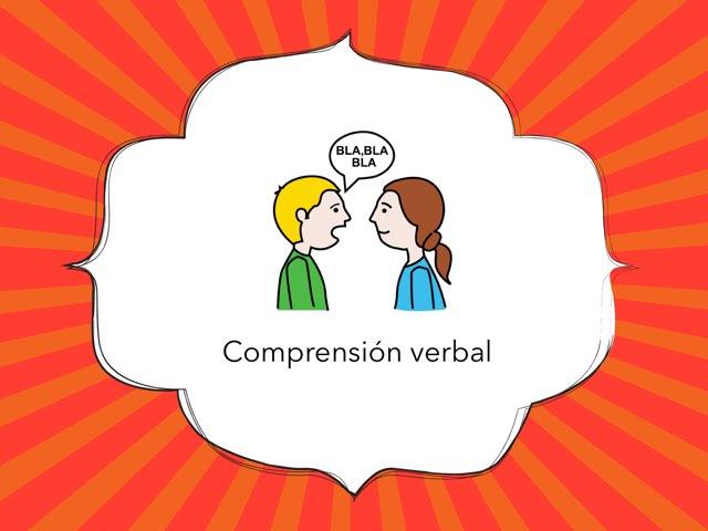 Comprension Verbal ELG by Asociación Nuevo Horizonte