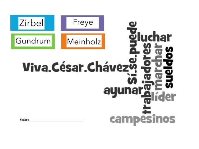 César Chávez 2019 by Emily Urquizo