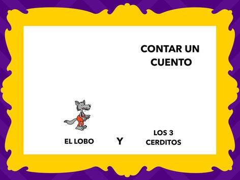Cuento: Los Tres Cerditos Y El Lobo(1) by Francisca Sánchez Martínez