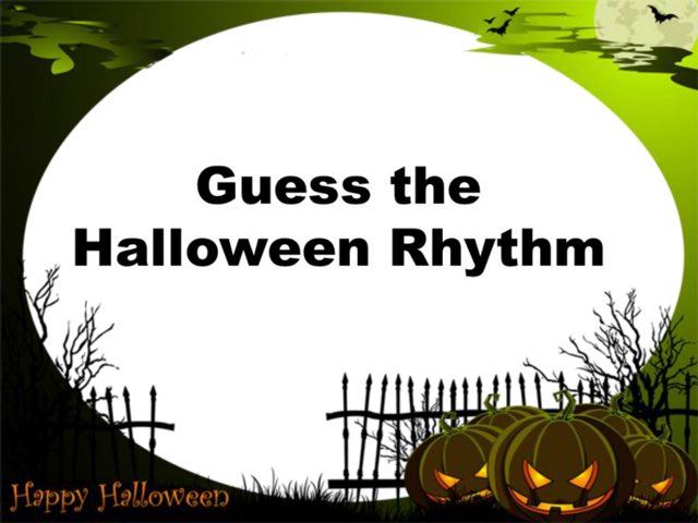 Halloween Rhythm by Carmen Martínez