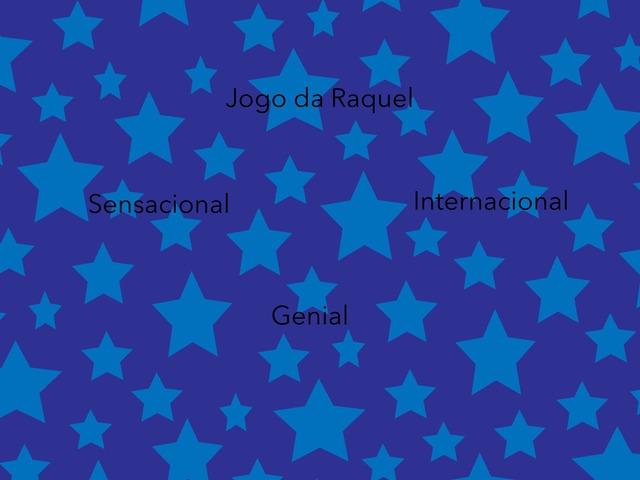 Jogo da Raquel by Fernanda Alves de Souza