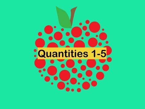 Quantities 1-5 by Teresa Grimes