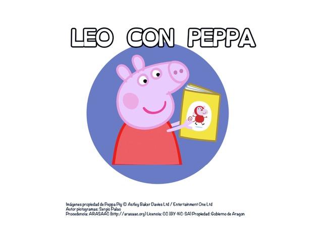 Leo Con Peppa Pig by Sergio Mesa Castellanos