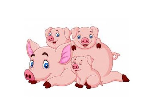 The Three Little Pigs   by María Palés