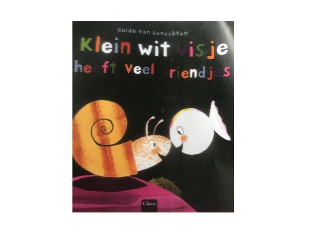 Klein Wit Visje Heeft Veel Vriendjes(1) by jole gielen