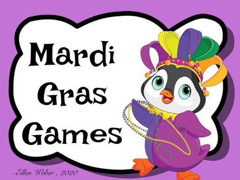 Mardi Gras Games by Ellen Weber