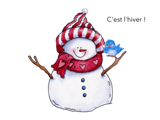 C'est l'hiver... by Martine Freymann