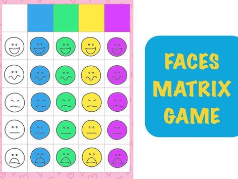 Faces Matrix Game by Hadi  Oyna
