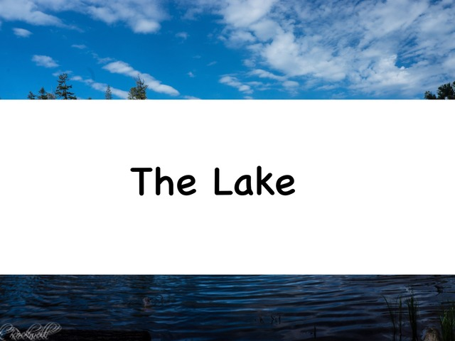 The Lake by Rebecca Jarvis