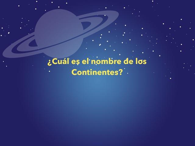 Los Continentes by Javier Varas Naranjo