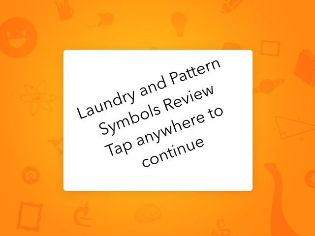 Laundry And Pattern Symbols Review by Marisa Hodges