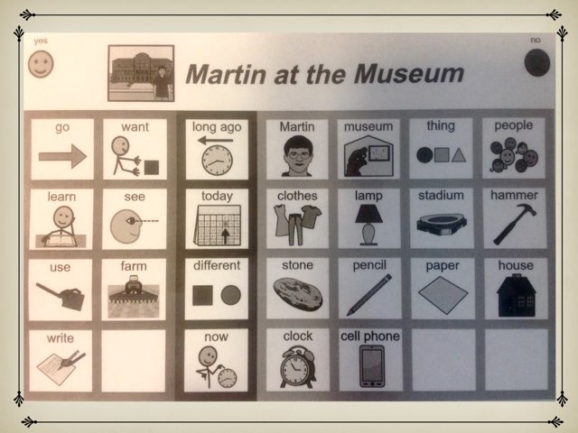 November Lesson 1: Sight Word Find For Martin at the Museum by Tanya Folmsbee