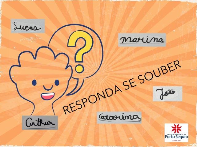 RESPONDA SE SOUBER by TecEduc Porto