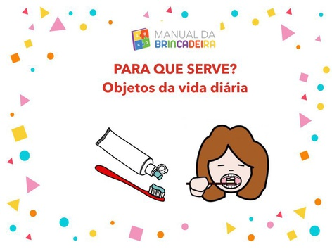 Objetos Da Vida Diária - Manual Da Brincadeira  by Manual Da Brincadeira Miryam Pelosi