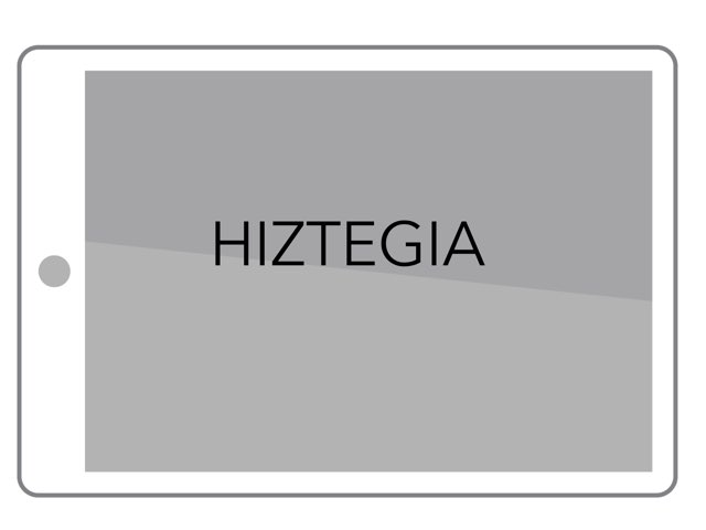 HIZTEGIA by Aiora Atutxa
