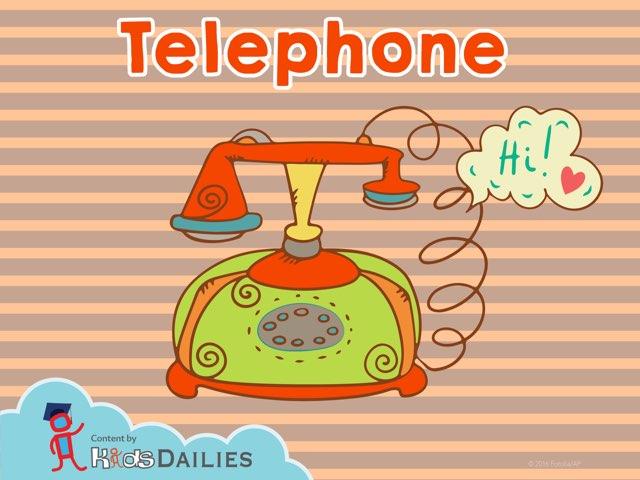 Telephone by Kids Dailies