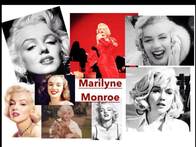 Marilyne Monroe by Isabelle Guay