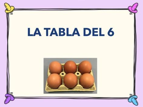 La Tabla Del 6 by Jose Sanchez Ureña