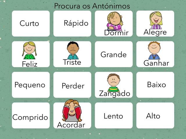 Antónimos e Sinónimos  by Maria José Gonçalves