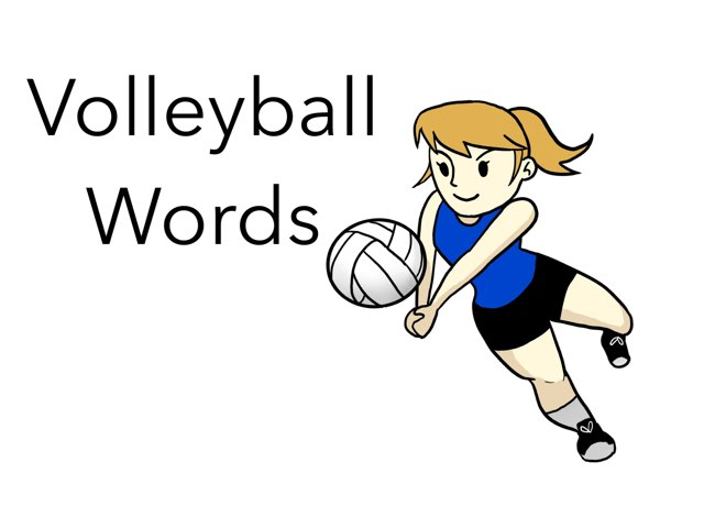 WFPS Volleyball Words  by Danette Brown