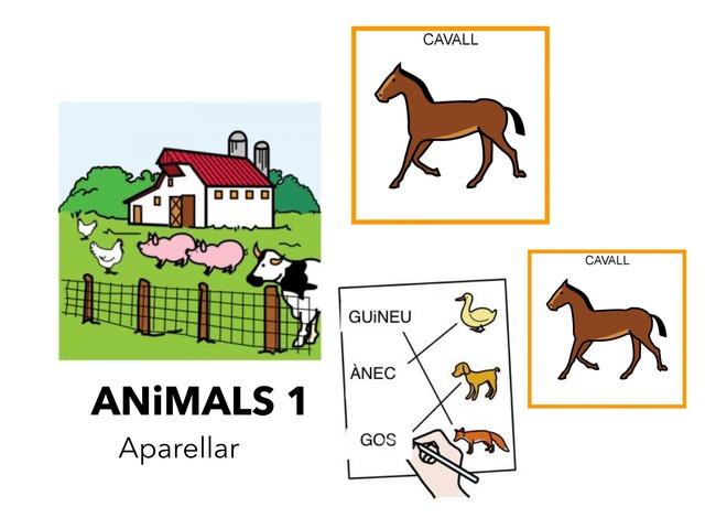Animals 1_Aparellar Pictogrames I Siluetes by Escola Joan23