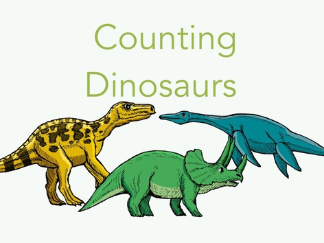 Counting Dinosaurs by Glodalis Espinosa-Santana