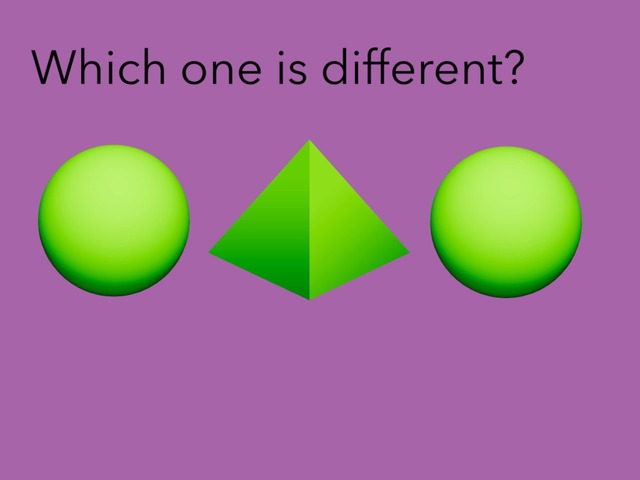 Which One Is Different #1 by Carol Smith