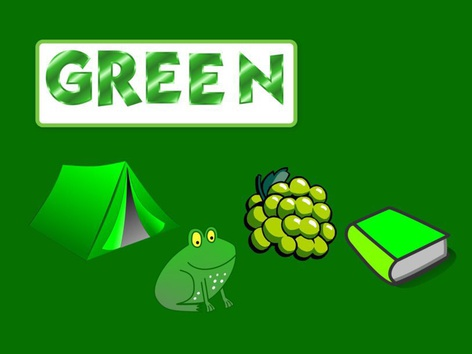 Colours: Green #1(EN UK) by Carol Smith