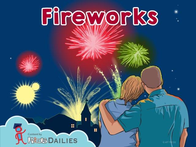Fireworks  by Kids Dailies