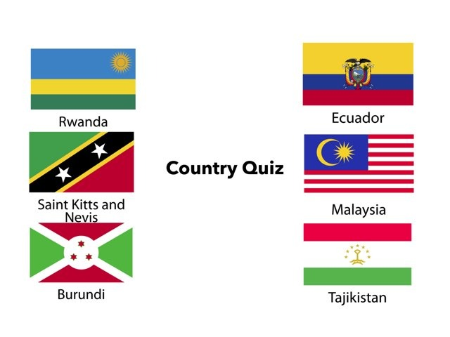 Country Quiz by Stephen Mesker