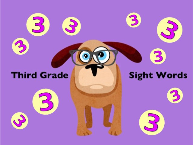 Third Grade Sight Words 3 by Ellen Weber