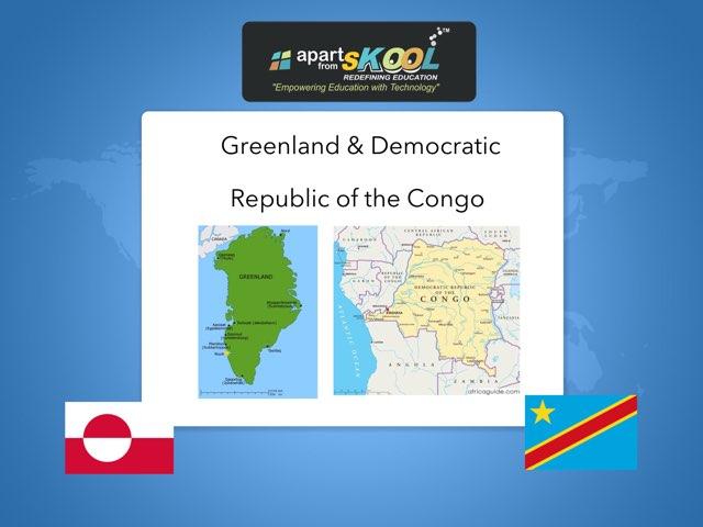 Greenland & Democratic Republic Of The Congo by TinyTap creator