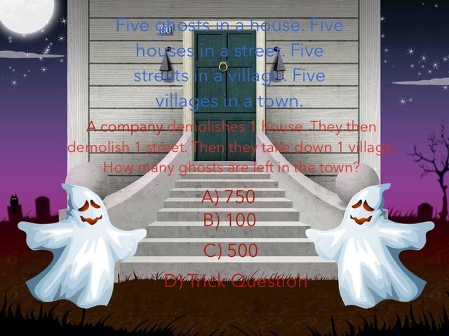 Halloween Maths by Harry Thorn