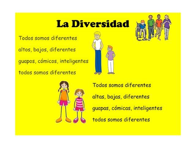 La diversidad by Allison Shuda