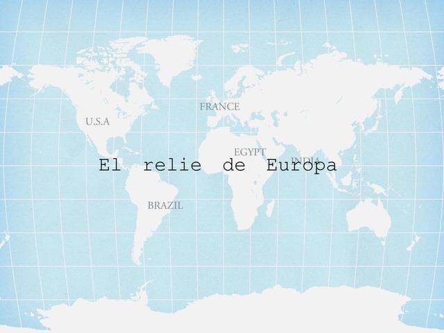 La geografía de Europa by Paula Torres Moreno