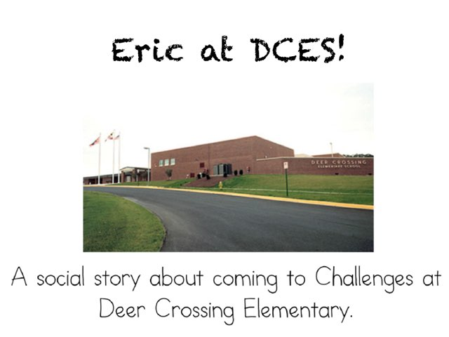 Eric at DCES by Bethany Hentgen