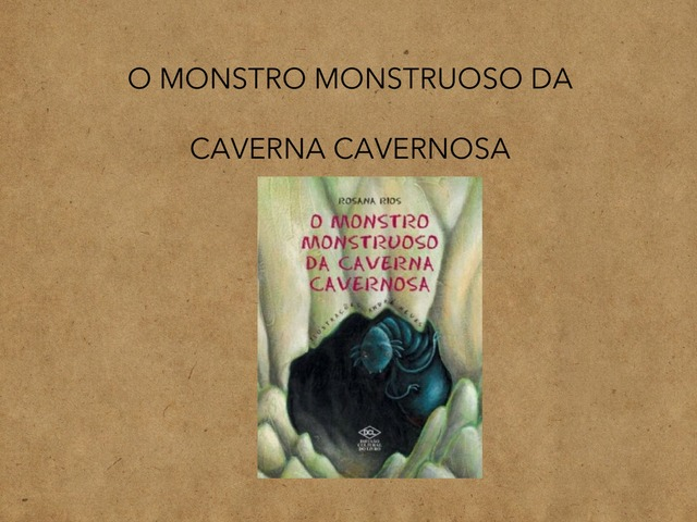 História: Monstro Monstruoso by Eliane Damasceno