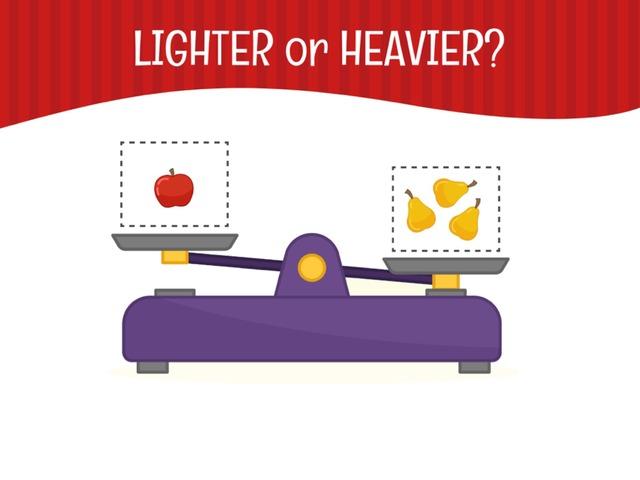 Lighter Or Heavier? by Hadi  Oyna